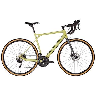 Vélo de Gravel GT BICYCLES GRADE CARBON EXPERT Shimano 105 R7000 36/52 Olive 2019